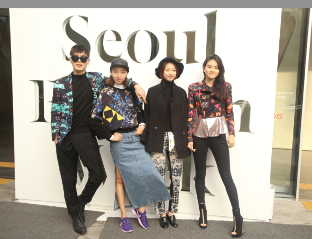 Thanks to rise and influence of Seoul Fashion Week, style experimentation is increasingly visible on the streets of Seoul. Photo by Michael Hurt.