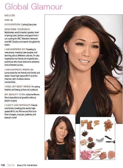 A how-to from Beauty Rewind, featuring casting executive Keli Lee of ABC.