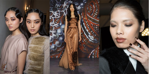 From left: Cividini, Jenny Packham, Zang Toi.