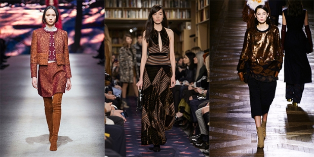 From left: Alberta Ferretti, Sonia Rykiel, Dries van Noten.