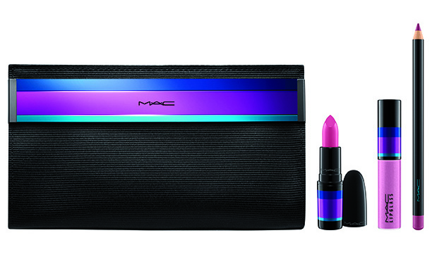 M.A.C Enchanted Eve Lip & Eye Bag in Pink.