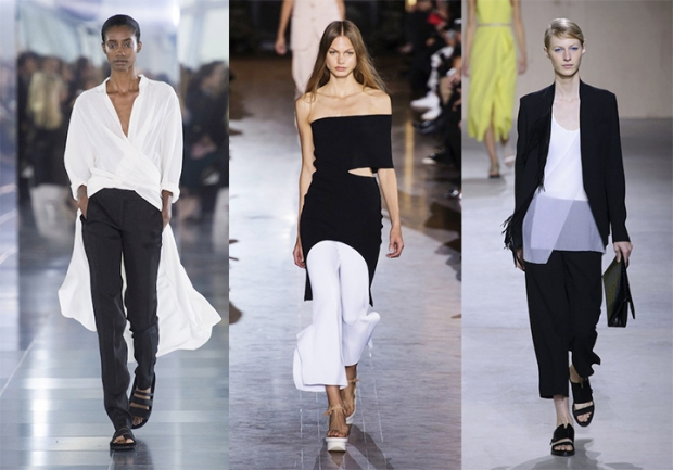 Amanda Wakeley, Stella McCartney, Boss Hugo Boss.
