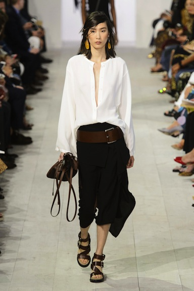 This Michael Kors ensemble I'd wear on the plane, on the ground, everywhere.