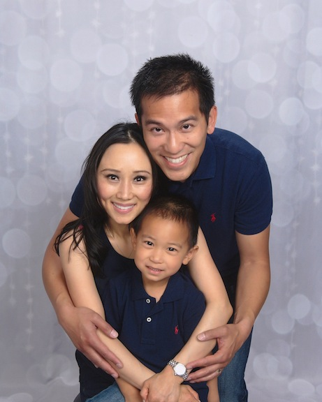 Susan Wong and her family.