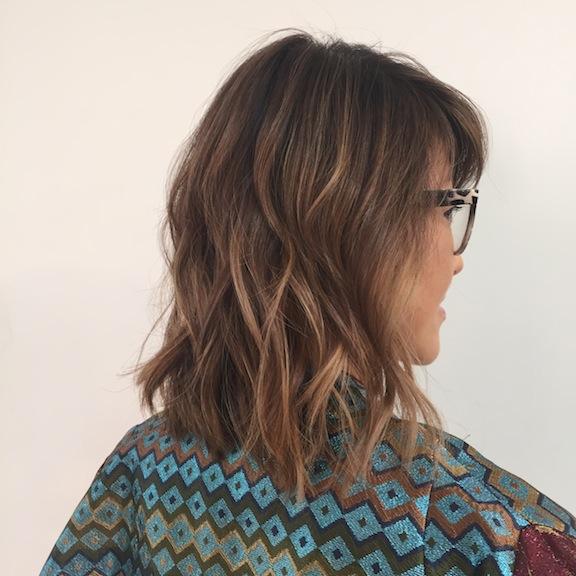 Ecaille tortoiseshell hair hair loss thinning hair new hairstyle hairdo ombre bayalage cherin choi