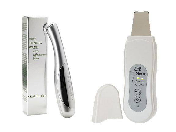 5 gadgets that will improve your skin kat burki micro firming wand and le mieux skin perfector