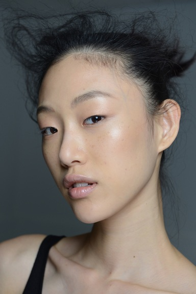 sora choi at 3.1 phillip lim spring 2015 show courtesy of beautypress.com
