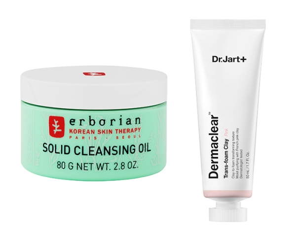 Two Korean beauty innovations transforming cleansers Dr. Jart Dermaclear and Erborian Solid Cleansing Oil