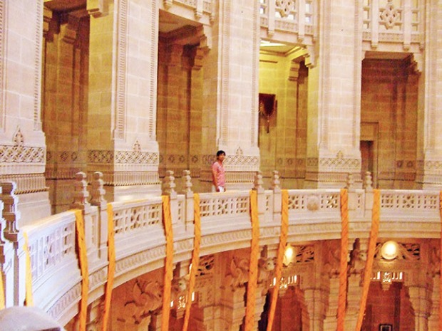 umaid bhawan standing at the pavilion at umaid bhawan palace, voted best hotel by tripadvisor 2016