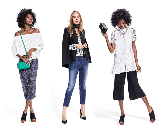 who what wear collaboration for target look book images featuring Lily Kwong, Zanita Whittington and Gala Gonzalez