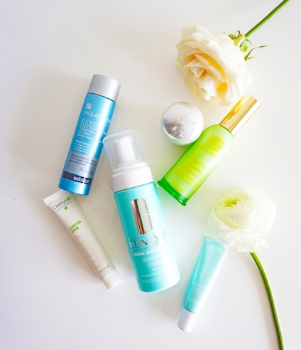 acne fighters that really work Clinique Acne Solutions ClarityMD Paula's Choice Tata Harper Rebuilding Moisturizer