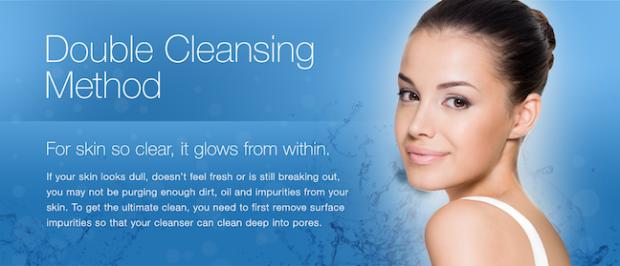 neutrogena double cleanse ad