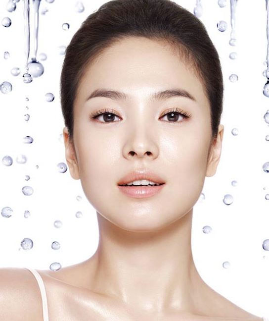 song hye kyo korean actress in mul gwang ad