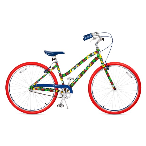 Adult Bicycle - Kukkatori Print - Primary 299.99