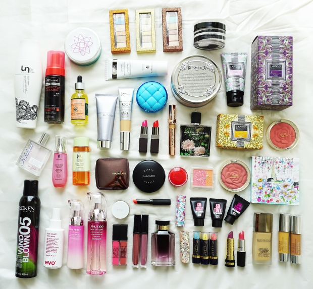 Life of a beauty editor: beauty products for the latest issue of Composure Magazine