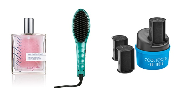 hair care trends include hair fragrance and upgraded tools