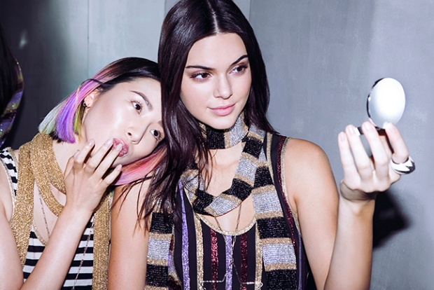 Kendall Jenner and Irene Kim