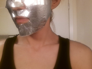 The latest in mask technology including Estee Lauder's foil mask