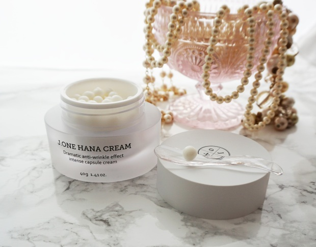 product review j. one hana cream