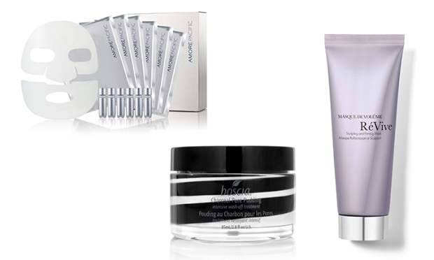 The latest in mask technology including amorepacific, boscia, revive skincare masks