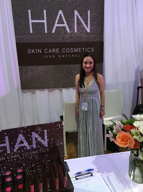 han skin care cosmetics at the indie beauty expo