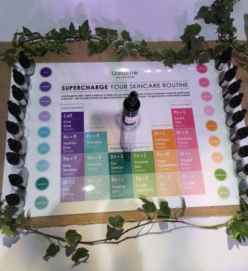 odacite at the indie beauty expo
