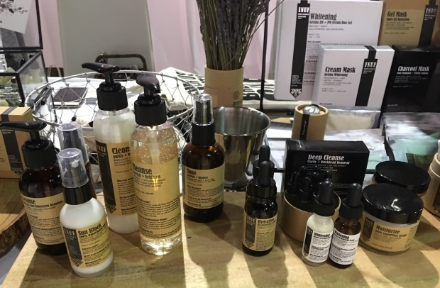 inuf at the indie beauty expo