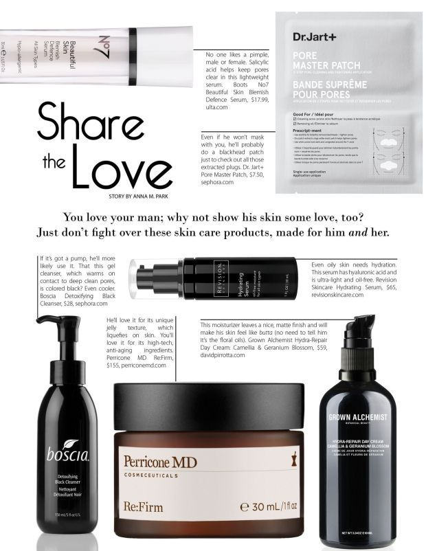Share the Love: Unisex skin care for Father's Day