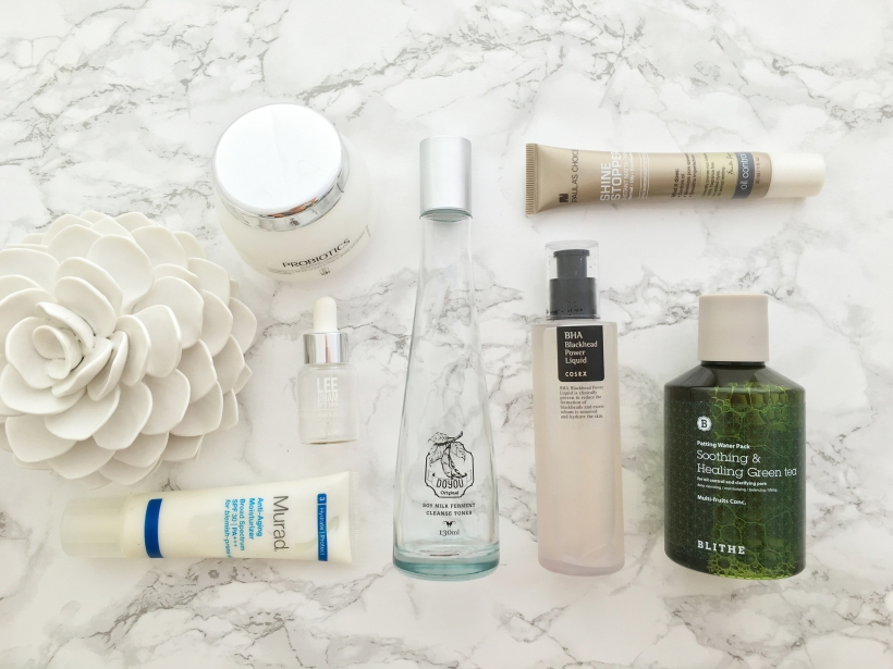 oily skin skin care products