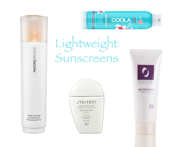 Best Sunscreens: Lightweight
