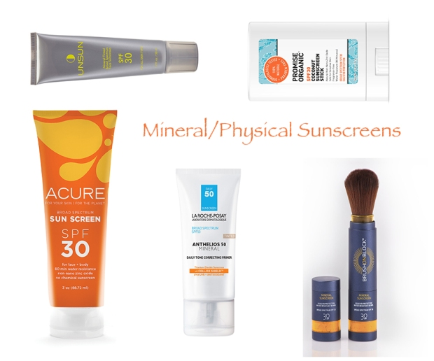 Best Sunscreens: Mineral/Physical