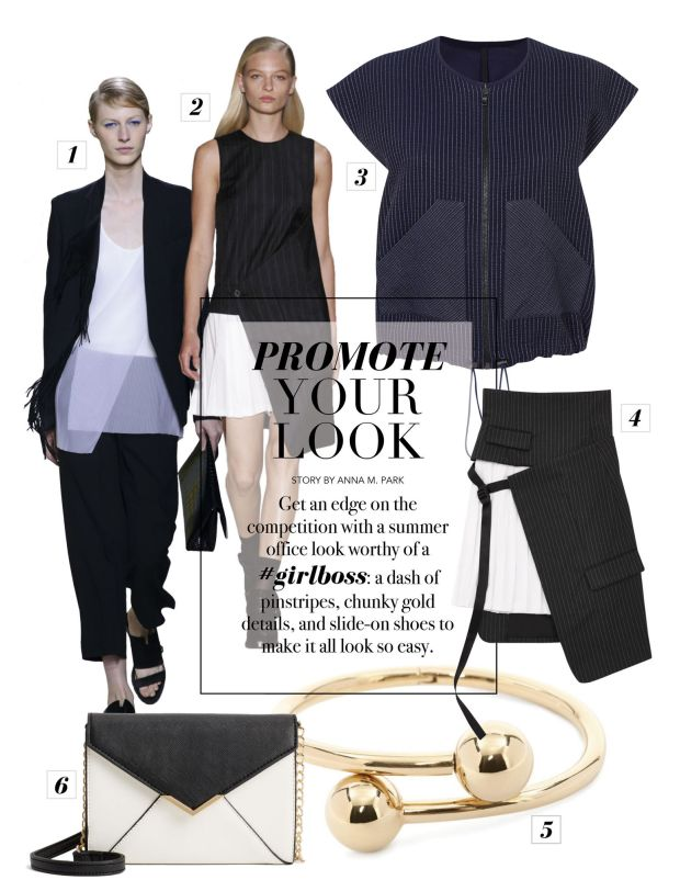 composure magazine promote your look summer work uniform