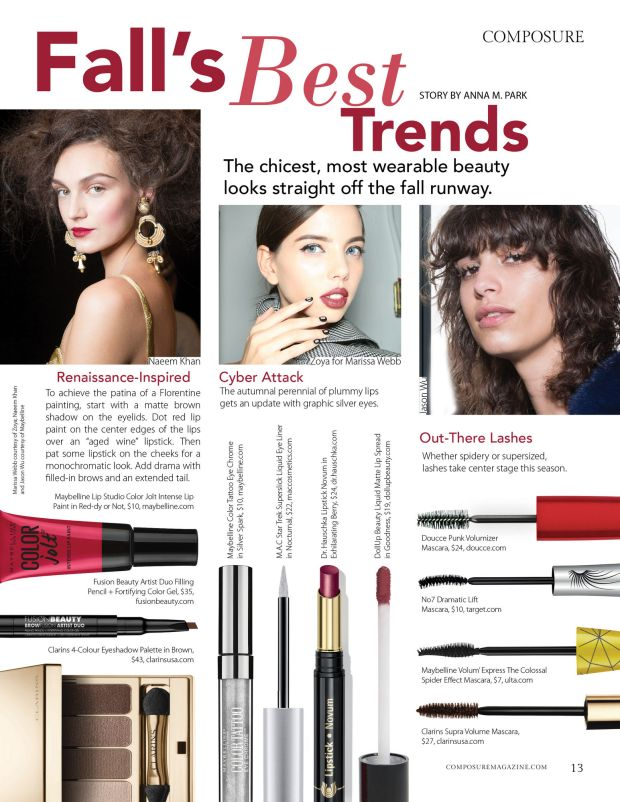 composure magazine fall's best trends