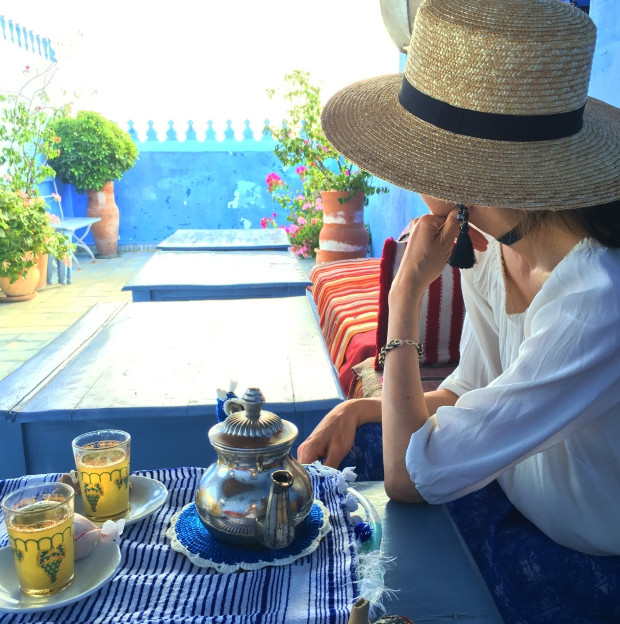 Relaxing at Casa Perleta in Chefchaouen 5 things I learned about skin care from my vacation