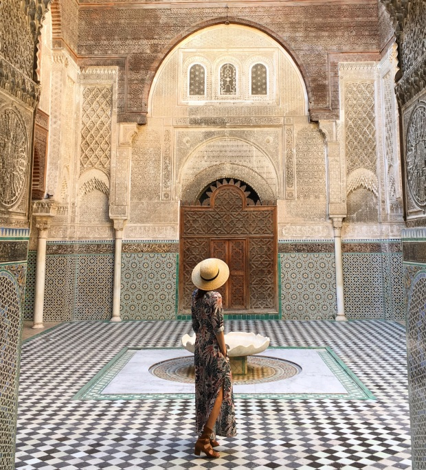 attarine medersa in fes, morocco