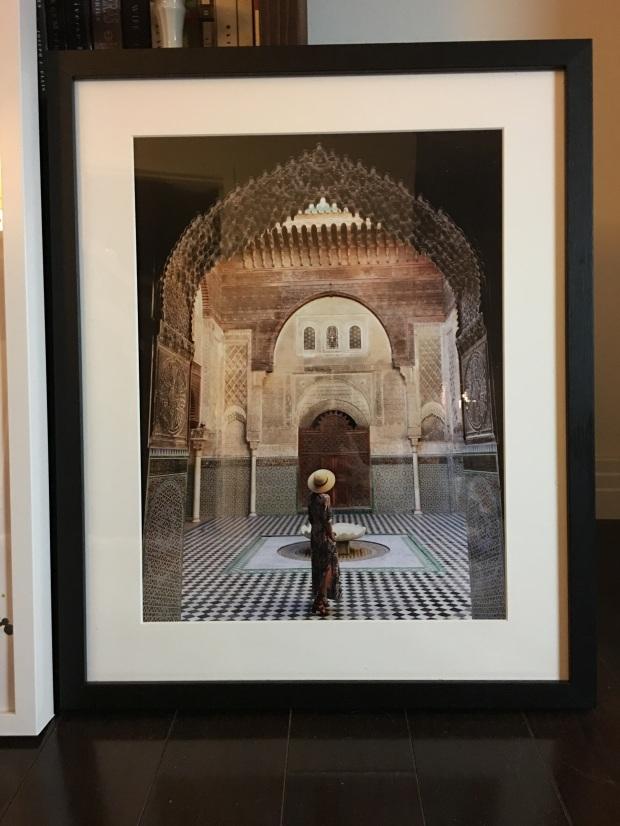 whitewall framed art