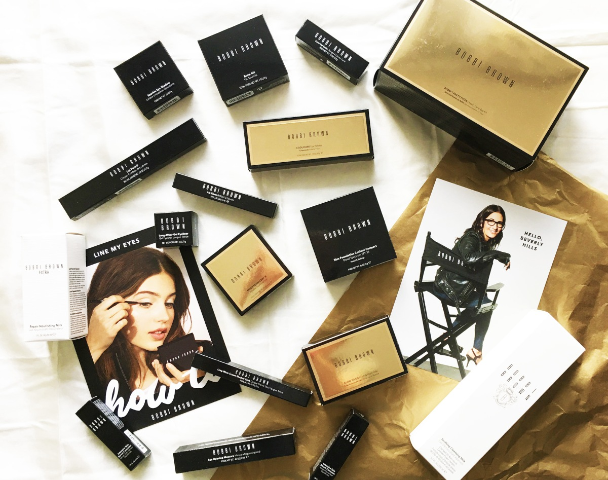 The Bobbi Brown Holiday Makeover + New Launches For 2017