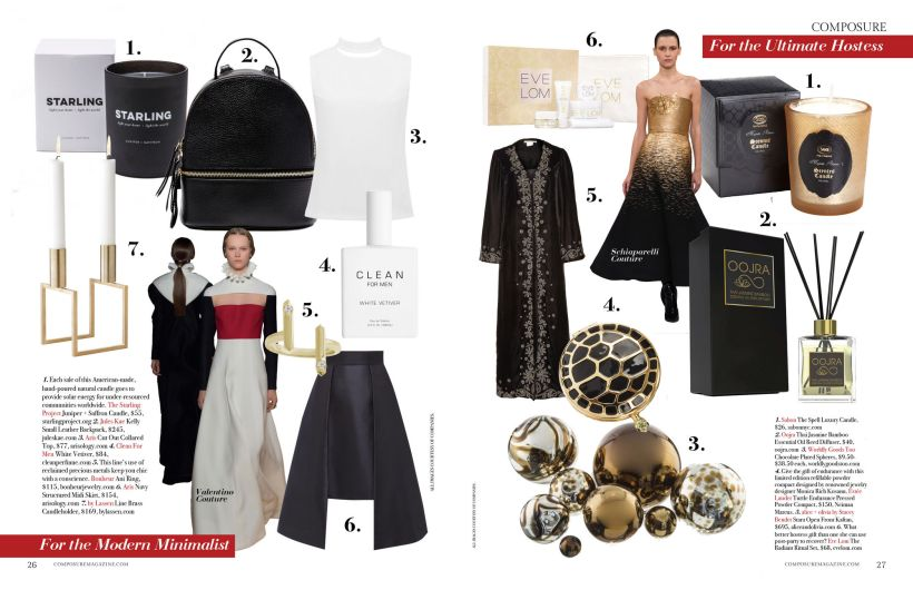 composure magazine ultimate gift guide