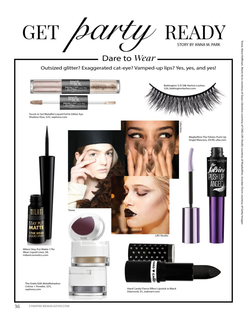 get party ready composure magazine