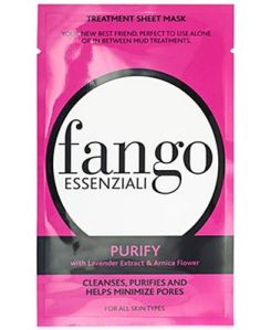 fango essenziali purify sheet mask