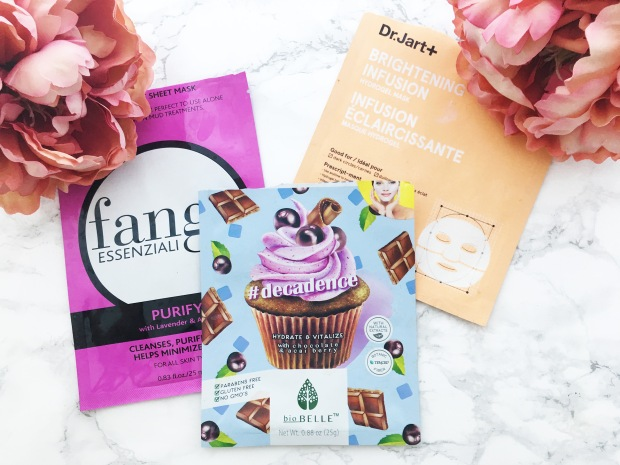 march sheet masks