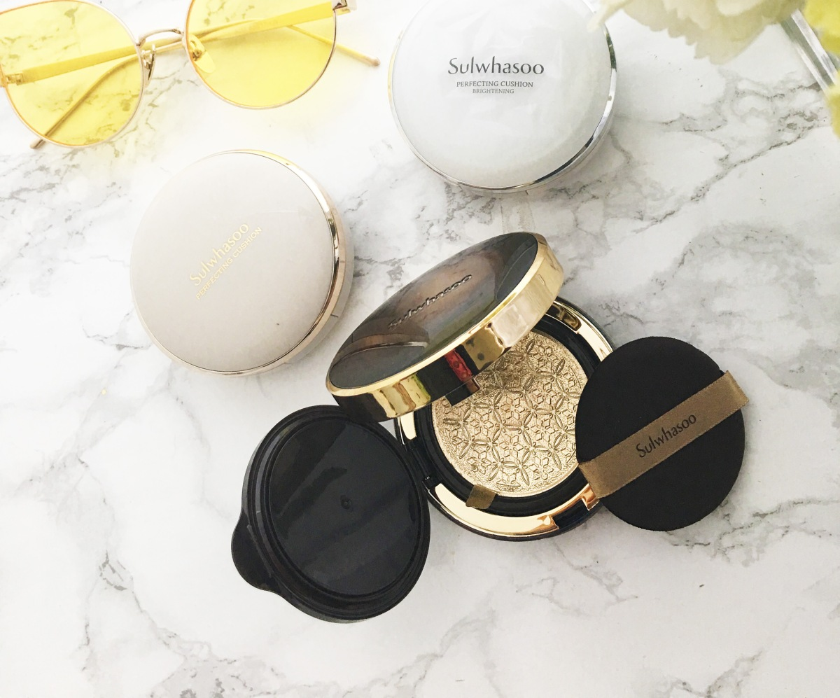 Product Review: Sulwhasoo Perfecting Cushion Intense (vs. Brightening and the Original)