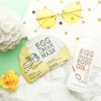 Product Review: Too Cool For School Egg Cream Mask Hydration