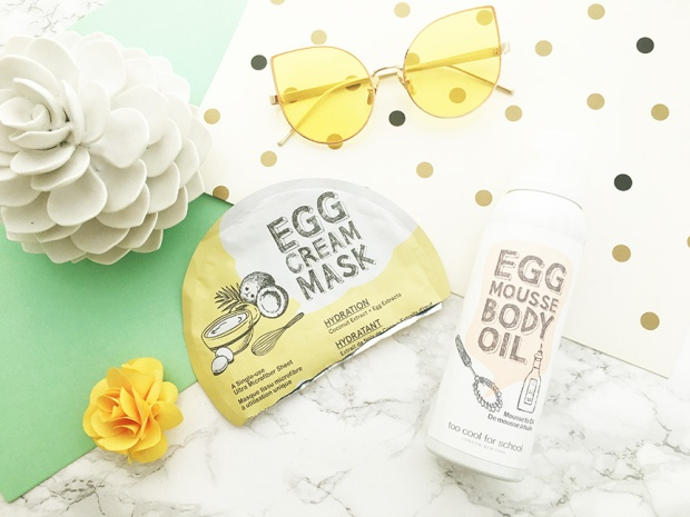 too cool for school egg mask